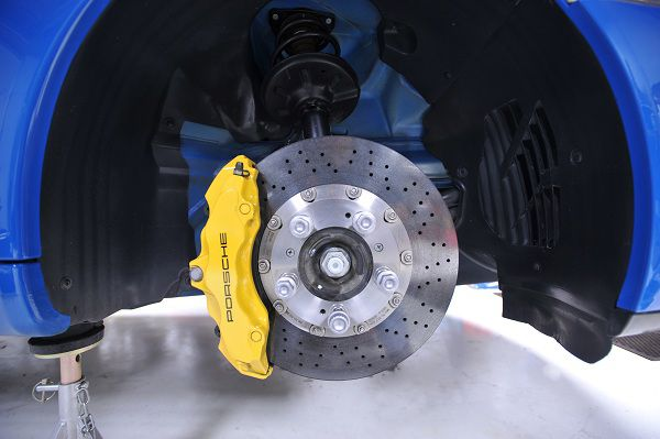 Modification of Brake pads and Stainless Steel Brake Lines