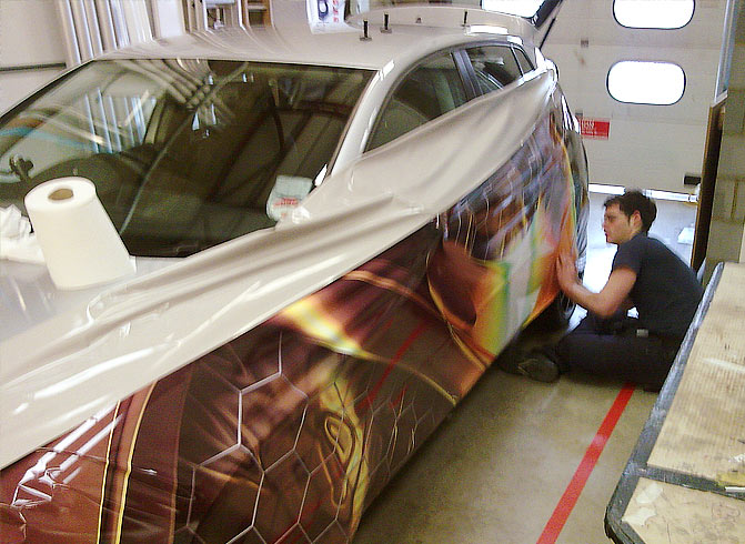 Car Wraps in Vehicle Modifications
