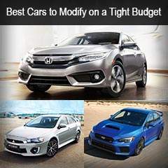 7 Best Cars to Modify on a Tight Budget